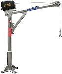 OZ Electric 1000lb Steel Davit Crane