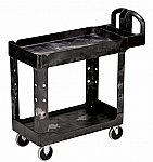 Rubbermaid 2 Shelf Utility Cart