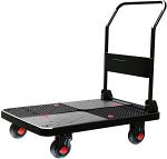 "Ultra Silent Platform Cart 700lb capacity 19"" Wide x 29"" Long thumb"
