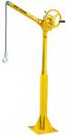 "Sky Hook 64"" Portable Jib Steel Crane With Floor Mounted Base"