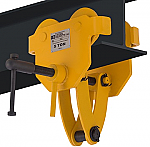 OZ 10,000lb Capacity Beam Trolley with Clamp