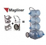 Water Bottle Hand Truck -Customizable Options