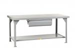 Heavy-Duty Workbench With Drawer