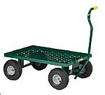 Nursery Wagon with Perforated Steel Deck