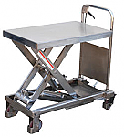 Stainless Steel Scissor Lift Table For Wet Areas