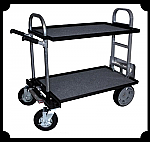 Studio Cart Convertible Hand Truck with Shelves - Junior Model