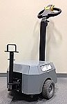 5000lb Electric Tugger with Mounted Round Bar Hitch