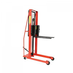 Economy Straddle Fork Stacker - 1000 Lbs Capacity thumb
