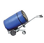 Wesco Stainless Steel Drum Truck For Poly Drums thumb
