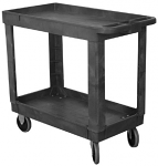 2 or 3 Shelf Economy Plastic Utility Cart thumb