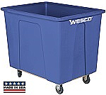 20 Bushel 160 Gal. Plastic Box Cart