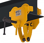 OZ 4000lb Capacity Beam Trolley with Clamp