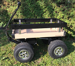 "Outdoor Electric Cart with 15"" Turf Tires"