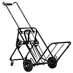 Norris Luggage Cart with Rear Wheels-250 lb. Capacity