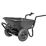 Pro-Paw Electric Wheelbarrow 300 lb Capacity thumb