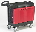 Rubbermaid 2 Door Cart thumb