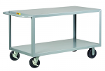 Heavy Duty 2 Shelf Stock Truck with Flush Shelves thumb