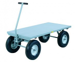 Heavy Duty Wagon Truck with Flush Deck thumb