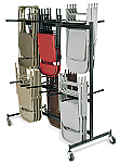 Hanging Folding Chair Cart