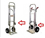 Replacement Wheels For BP Liberator Convertible Hand Truck thumb
