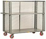 Adjustable Shelf Truck - 3 Mesh Sides