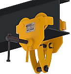 OZ 1000lb Capacity Beam Trolley with Clamp