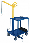 Sky Hook Mobile Crane with Utility Cart