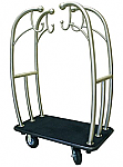Monarch Bell-Man Cart Steel - Red or Black Carpet  thumb