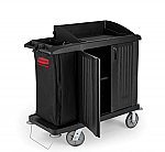 Housekeeping Cart with Doors thumb