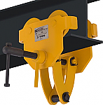 OZ 6000lb Capacity Beam Trolley with Clamp thumb
