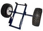 Big Wheel Attachment For Powermate M Series Hand Truck thumb