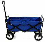 Collapsible Folding Outdoor Wagon With Rugged Wheels