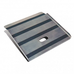 Lightweight Aluminum Curb Ramp with Walk Strips thumb