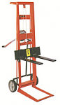 Two Wheel Hand Winch Fork Lift Truck