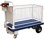 Powered Platform Truck - With Sides thumb