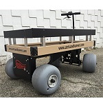 "Sandhopper Motorized Beach Wagon 34"" x 60"" thumb"