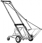 Norris Heavy Duty Telecoping Cart with Kickout Wheels-400 lb Capacity