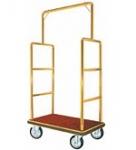 Bar Top Brass Hotel Bellman Luggage Cart