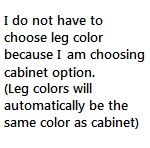 Choose Leg Color