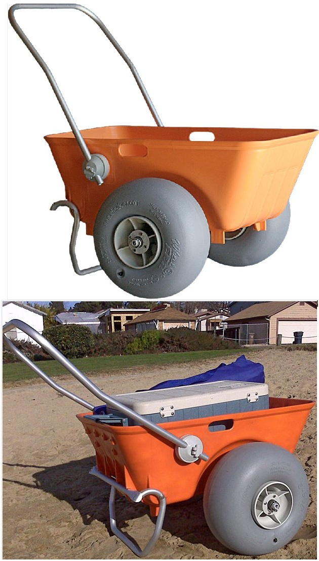 Beach Carts At Walmart http://handtrucks2go.com/Wheeleez-Tub-Style-Beach-Cart-with-Big-Soft-Wheels.html